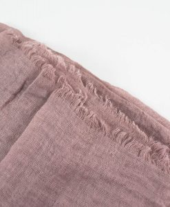 Plain Crimp Hijab Dusty Pink 2