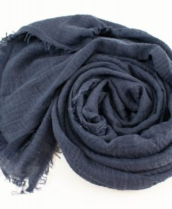 Plain Crimp Hijab Mocha 3
