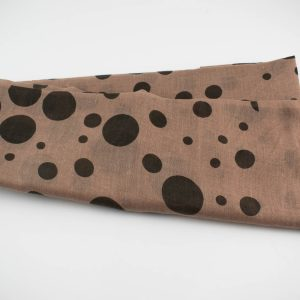 Polka Dot Hijab Dusty pink 2