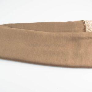 Crochet Lace Hijab Mocha 1