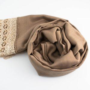 Crochet Lace Hijab Mocha 2