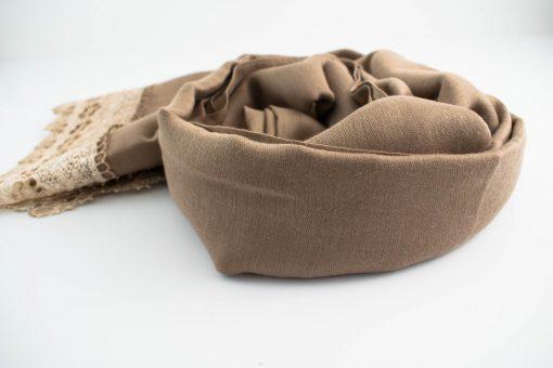 Crochet Lace Hijab Mocha 4