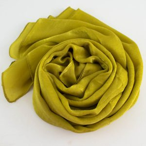 Deluxe Plain Hijab Lime Green 4