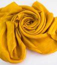 Deluxe Plain Hijab Mustard 1