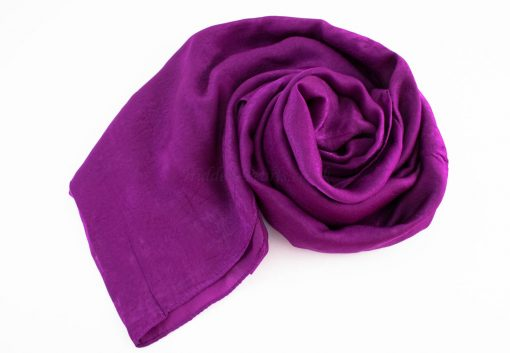 Deluxe Plain Hijab Purple 2