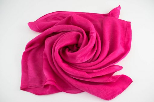 Deluxe Plain Hijab Shocking Pink 1