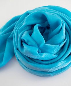 Deluxe Plain Hijab Sky Blue 2