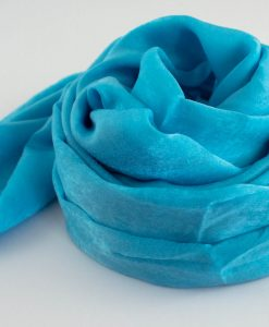 Deluxe Plain Hijab Sky Blue 3