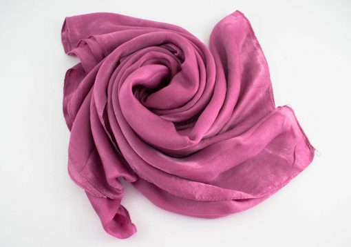 Deluxe Plain Hijab Spanish Pink 2