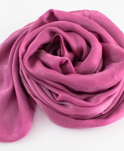 Deluxe Plain Hijab Spanish Pink 3