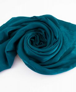 Deluxe Plain Hijab Teal 2