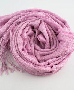 Shimmer Hijab Baby Pink