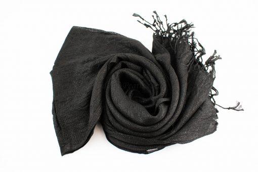Shimmer Hijab Black 2