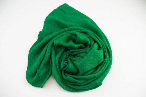 Shimmer Hijab Islamic Green 3