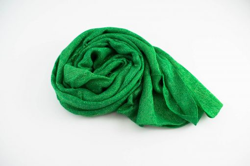 Shimmer Hijab Islamic Green 4