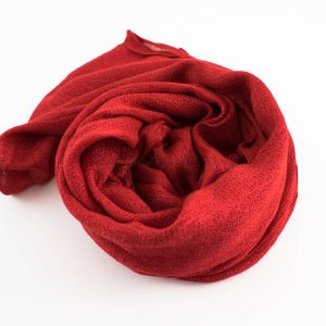 Shimmer Hijab Red