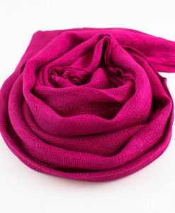 Shimmer Hijab Shocking Pink 2