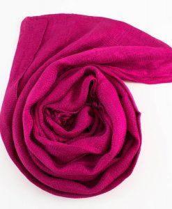 Shimmer Hijab Shocking Pink