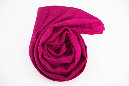 Shimmer Hijab Shocking Pink