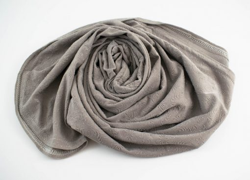 Children Hijab Light Grey