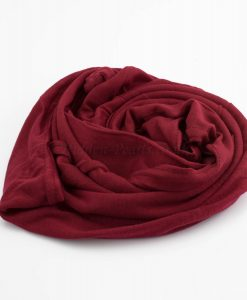 Everyday Children's Hijab - Deep Red - Hidden Pearls