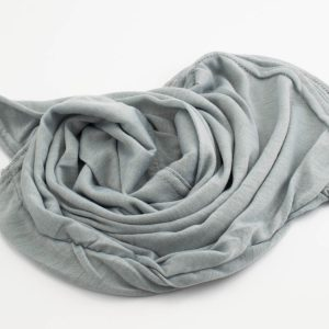 Everyday Children's Hijab - Light Grey - Hidden Pearls