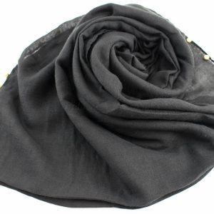Pearl Globe Hijab Dark Grey 2