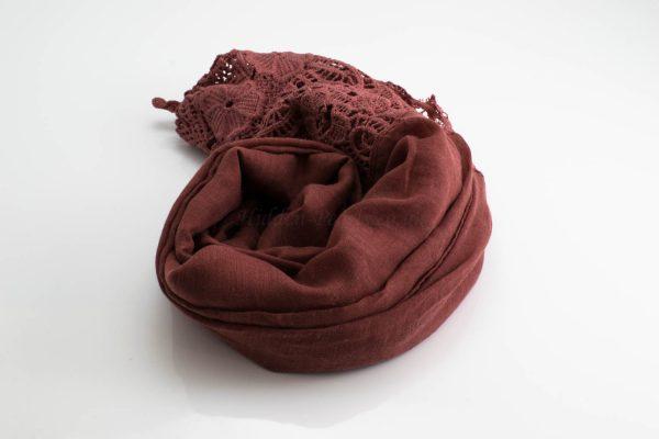 Antique Lace Hijab Blush 2