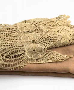 Antique Lace Hijab Light Brown