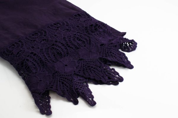 Antique Lace Hijab Plum