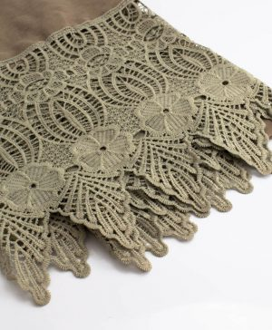Antique Lace Hijab Stone 2