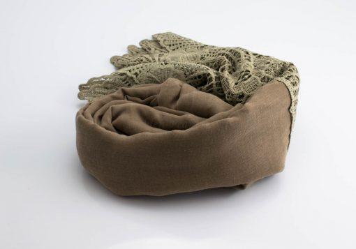 Antique Lace Hijab Stone 3