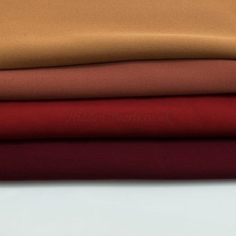 Chiffon Hijabs Reds 2- Hidden Pearls