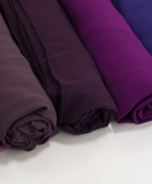 Chiffon Hijabs purples - Hidden Pearls