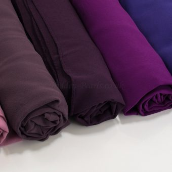 Chiffon Hijabs purples - Hidden Pearls