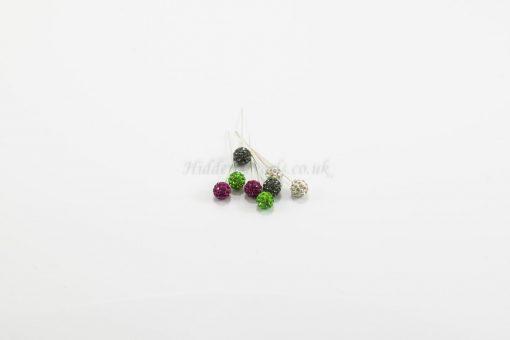 Diamante Hijab Pins - Hidden Pearls