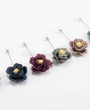 Flower & Pearl Hijab PIn