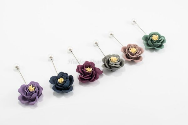 Flower & Pearl Hijab PIn