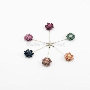 Floral Hijab Pins - Hidden Pearls 2