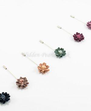 Floral Hijab Pins - Hidden Pearls