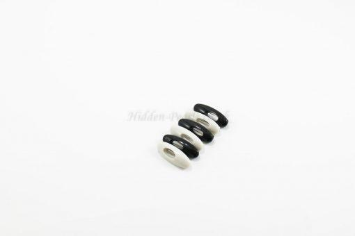 Black & White Hijab Pins - Hidden Pearls
