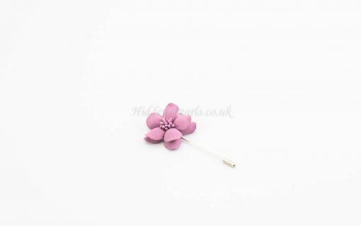 Daisy Flower Pin - Pink - Hidden Pearls