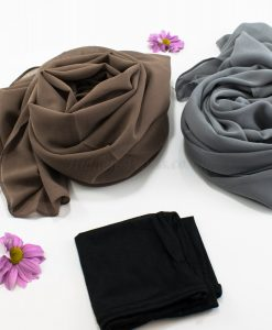 Hijab Chiffon Gift Set - Hidden Pearls