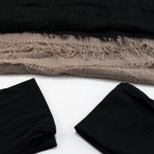 Hijab Crimp Hijab Set - Hidden Pearls-1