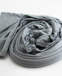 Jersey Plain Hijab Light Grey