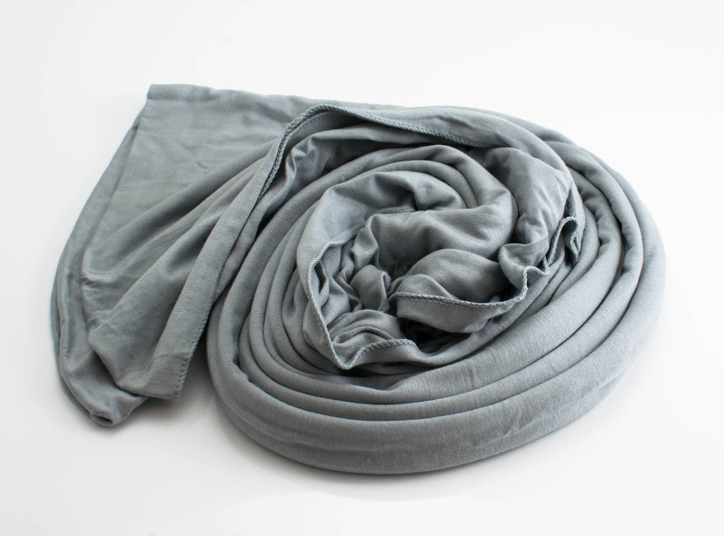 Jersey Plain Hijab Light Grey