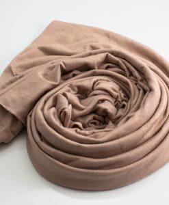 Jersey Plain Hijab Nude Pink