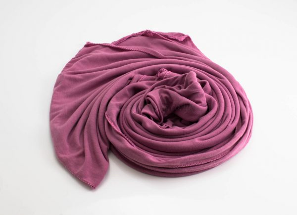 Jersey Plain Hijab Spanish Pink