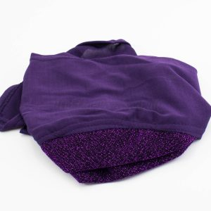 Occasion Underscarf - Royal Purple - Hidden Pearls