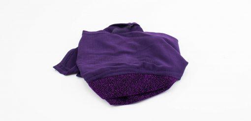 Occasion Underscarf - Royal Purple - Hidden Pearls